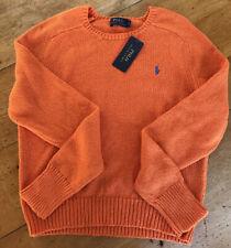 Ladies Ralph Lauren Polo Size L Cotton Jumper BNWT