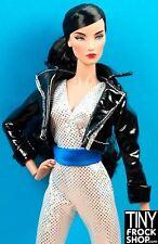 Barbie Avastars Black Patent Cool Girl Jacket