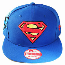 New Era Super Man 950 blue Snapback Hat Mesh Fresh Side Cap