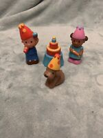 Elc Happyland - Set Of Birthday Party Figures