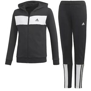 Adidas Kids Boys Fleece Tracksuit Uk Size 5-6 Years New With Tags