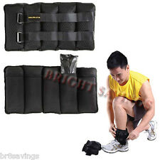 Gold's Gym Pair of 20 lb Adjustable Ankle, Wrist, Arm, Leg Weights - NEW