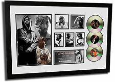 NEW TUPAC SHAKUR SIGNED LIMITED EDITION FRAMED MEMORABILIA