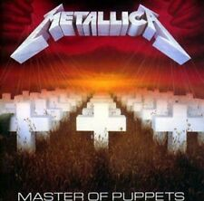 METALLICA MASTER OF PUPPETS CD ALBUM (2017 Remaster)