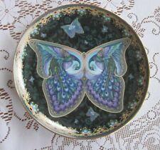 Amethyst Allure Porcelain Plate by Oleg Gavrilov Enchanted Wings 4th Issue
