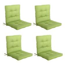 Green Midback Chair Seat Pad Cushion Outdoor Indoor Office Dining Living Room