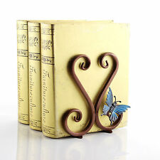 Antique Bookends 2pcs copper Metal retro book end classic design book stand