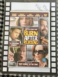 Burn After Reading (DVD - Brand New & Sealed)