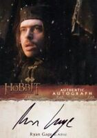 Hobbit Desolation of Smaug Ryan Gage as Alfrid Autograph Card RG