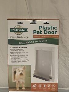 """NIB! PetSafe Dog/Cat Pet Door W/Soft Tinted Flap-Up To 40 lb Pets-8-1/8x12-1/4"""""""