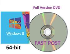 Windows 8.1 Enterprise 64-Bit + Bootable Installation DVD Full Version HOME PRO8