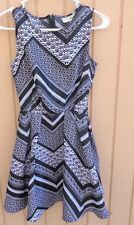 DEREK HEART DRESS SIZE SMALL ZIPPER BACK