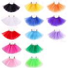 Girls Kids Baby Dance Fluffy Tutu Skirt Pettiskirt Ballet Dress Fancy Costume