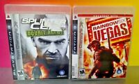 Tom Clancy's Splinter Cell Rainbow Six -  Game Lot PS3 Sony Playstation 3 Tested