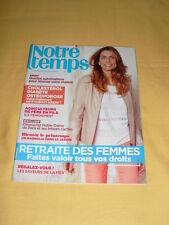 NOTRE TEMPS N°519 Mars 2013