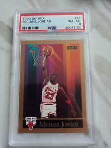 NBA Trading Cards..Michael Jordan (Skybox 1990)