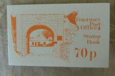 1982 Bailiwick Guernsey Postage stamps 70p booklets unused. 5p 8p 13p stamps