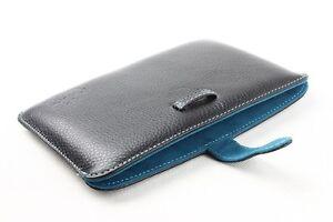 Kindle sleeve. Genuine leather sleeve for Kindle ebook ereader.