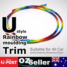 6M Flexible Car Moulding Line Interior External Decorative Door Edge Trim Strip