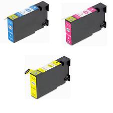 3 PGI-1200 XL CMY Pigment Ink Cartridges for Canon MAXIFY MB2020 MB2320 Printer