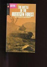BATTLE OF THE HUERTGEN FOREST ( 1944 France)  Charles MacDonald 1st   SB VG