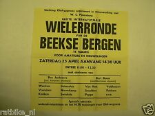 53-BEEKSE BERGEN WIELERRONDE TILBURG 1970, OLOF RACES