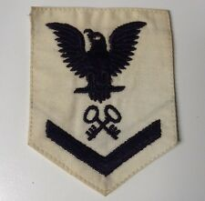 US Navy Chevron Petty Officer 3rd Class With Rating STOREKEEPER , Female