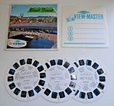 Foresta nera Germania Viewmaster 3 REEL Set C410 vintage anni 1960 RARA B937