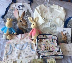 Harrods Peter Rabbit & Flopsy Jacket-Back Pack-Lunch Bag BNWT