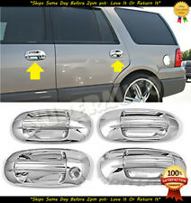 For 2003-2017 Ford Expedition+Lincoln Navigator 8pcs Chrome Door Handle Covers