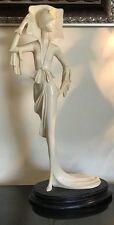 A. SANTINI A BEAUTIFUL ART DECO SIGNED ITALIAN SCULPTURE