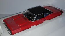 1/18 ERTL AMERICAN MUSCLE MINT 1969 DODGE CORONET R/T 426 HEMI RED ORANGE gd