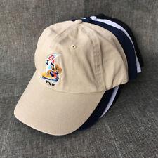 RL Baseball Cap Polo Bear Sport Embroidery Sailboat Bear Surfing Men Hat Vintage