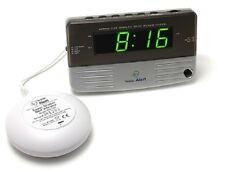 Sonic Alert SB200SS Sonic Boom Travel Bedside Alarm Clock with Super Bed Shaker