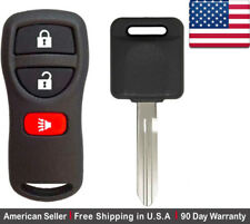 1x New Replacement Keyless Remote with Ignition Key For Nissan ID 46 Chip N104T