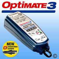 OptiMate 3 Battery Charger & Conditioner UK Supplier Warranty 2020 (NEW)