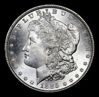 *  1885-p * Gem Morgan Dollar $1* GEM + BU Unc * SUPERB * Possible DMPL *