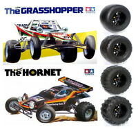 New 4pcs Truck Tires for TAMIYA Hornet/Grasshopper /Frog/SUBARU Brat