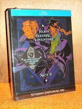 Jojo's Bizarre Adventure Set 2 (Blu-ray, 2018, 4-Disc) NEW Matthew Mercer anime