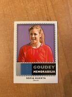 2018 UD Goodwin Champions - Sofia Huerta - Goudey Memorabilia Relic SOCCER