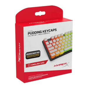 HyperX Pudding Keycaps PBT Upgrade Kit White