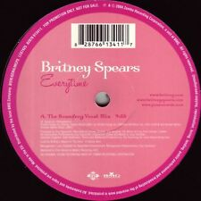Britney Spears Everytime 12, Promo Jive, BMG - 82876 613411 Europe 2004 VG+/G...