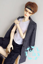 Handsome Long Sports Woolen Coat for Bjd 1/3 SD13 Doll Clothes CMB105