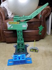 THOMAS THE TRAIN - CRANKY THE CRANE w/ REMOTE CONTROL WORKS GREAT Trackmaster