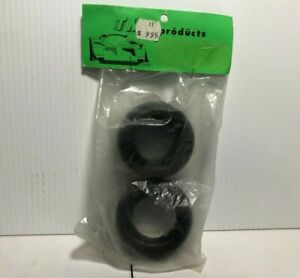 """TMS Rubber Tires 1.6"""" Bead 1.2"""" Wide Front NIP RC"""