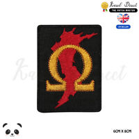 GOD OF WAR Video Game Logo Embroidered Iron On Sew On PatchBadge