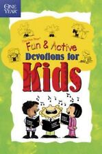 Children's Bible Devotions for Kids One Year Book of Fun & Active Devotions