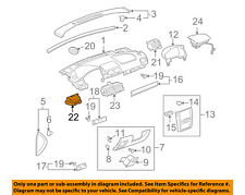 GM OEM Dash Air Vent-AC A/C Heater Duct Outlet Louvre Left 22723489