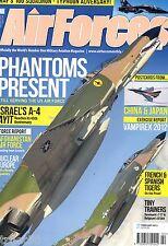 Air Forces Monthly 2013 February SF260,Israel A-4,Phantom QF-4,RAF 100 Squadron