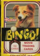 Bingo Dog Movie COMPLETE TRADING CARD SET